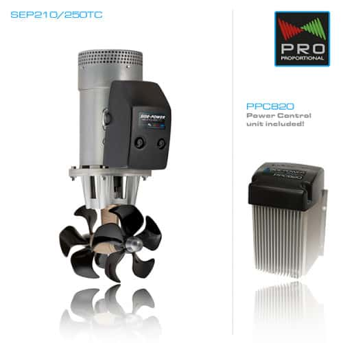 Baugpropell proposjonalstyrt elektrisk