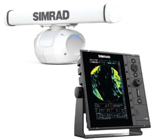 Simrad R2009 med HALO 3
