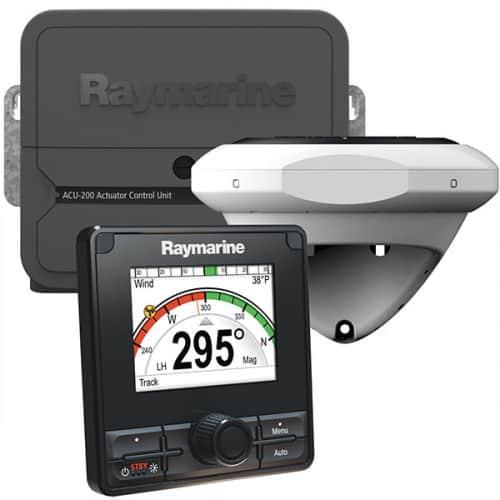 Raymarine ACU200 Evolution pilotpakke med P70Rs