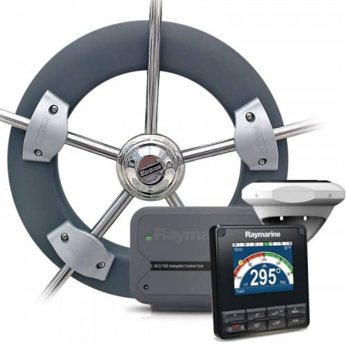Raymarine Evolution autopilot pakke for rattstyring